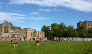 Rugby on the green