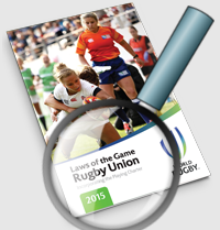 rugby law book